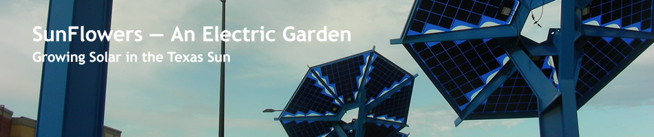 Mueller Austin Solar SunFlowers | An Electric Garden